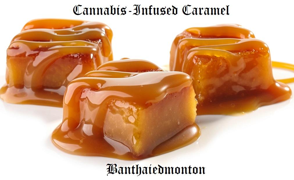 Cannabis-Infused Caramel