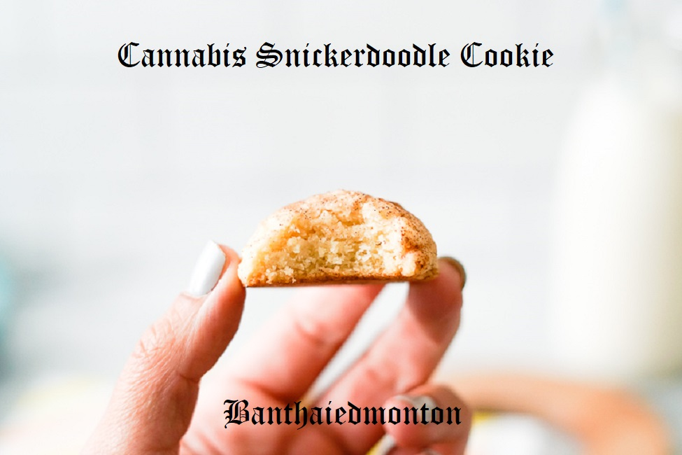 Cannabis Snickerdoodle Cookie