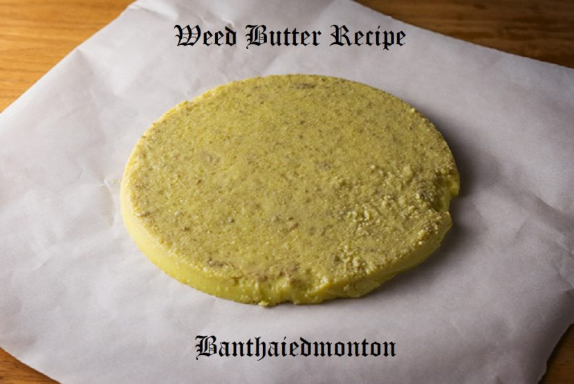 Weed Butter Recipe