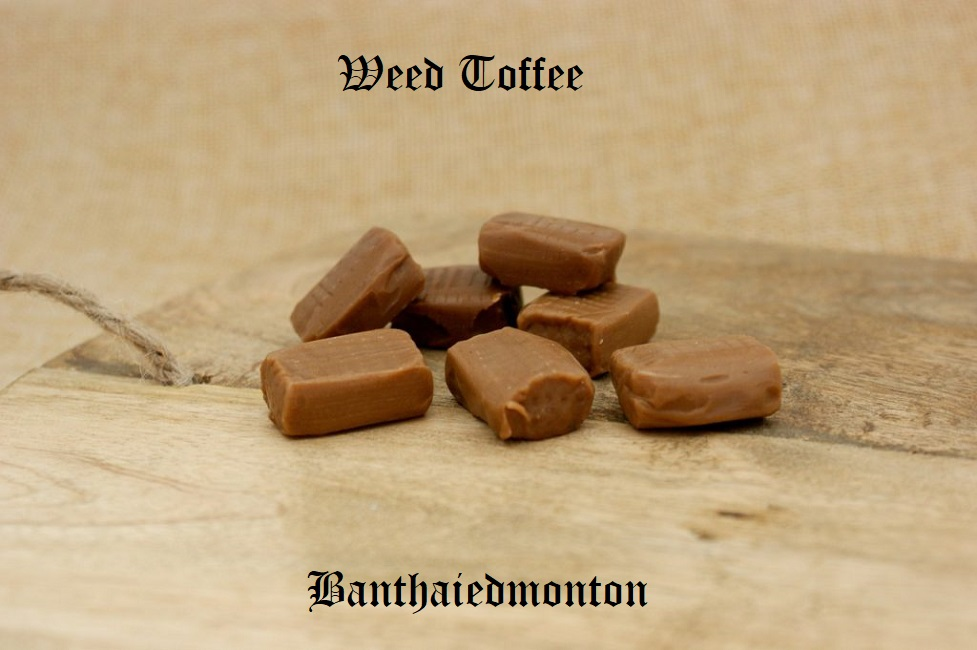 Weed Toffee Recipe