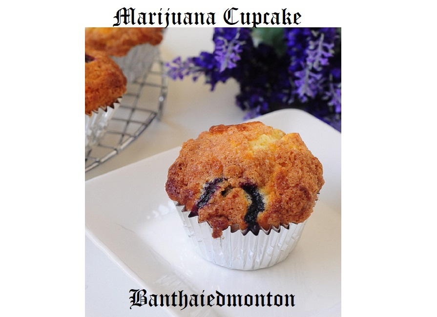 marijuana cupcake