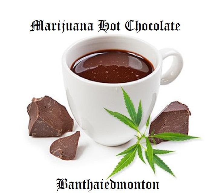 marijuana hot chocolate