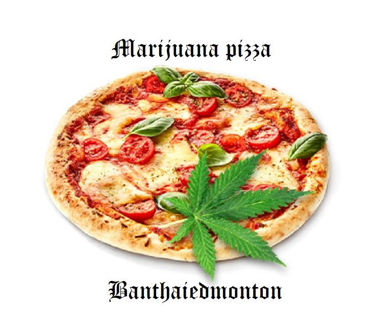 marijuana pizza