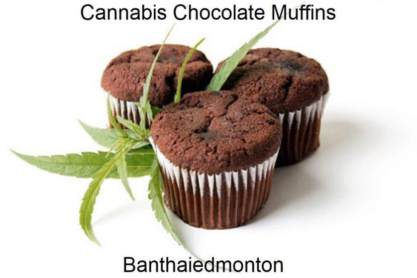 Cannabis Chocolate Muffins