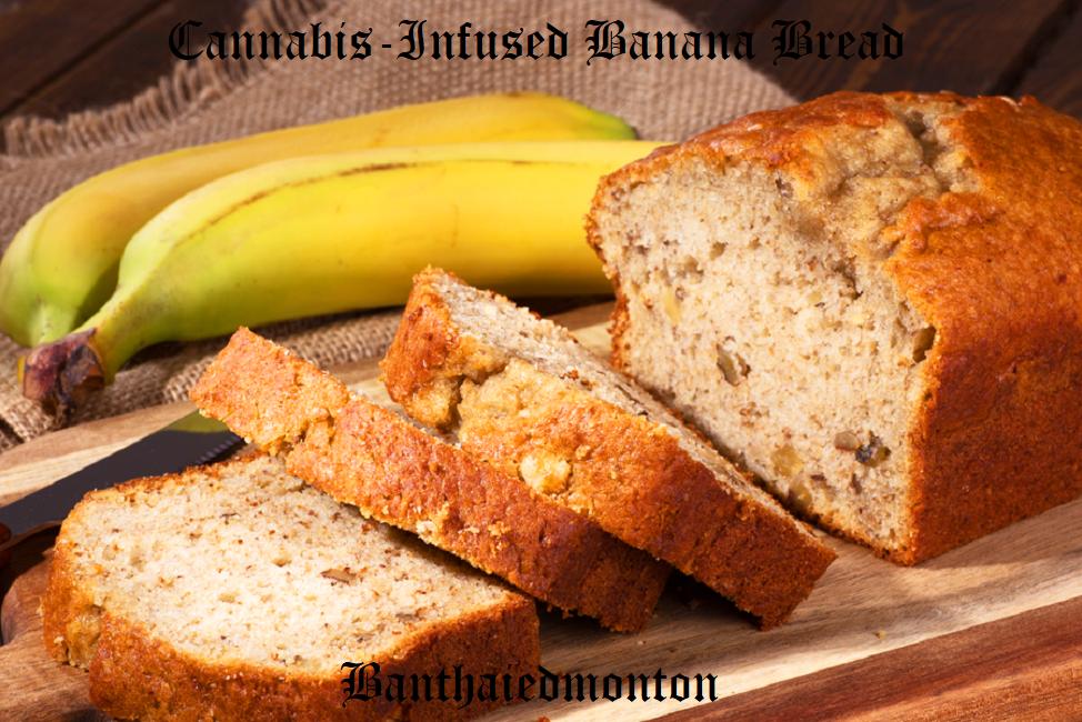 Cannabis-Infused Banana Bread