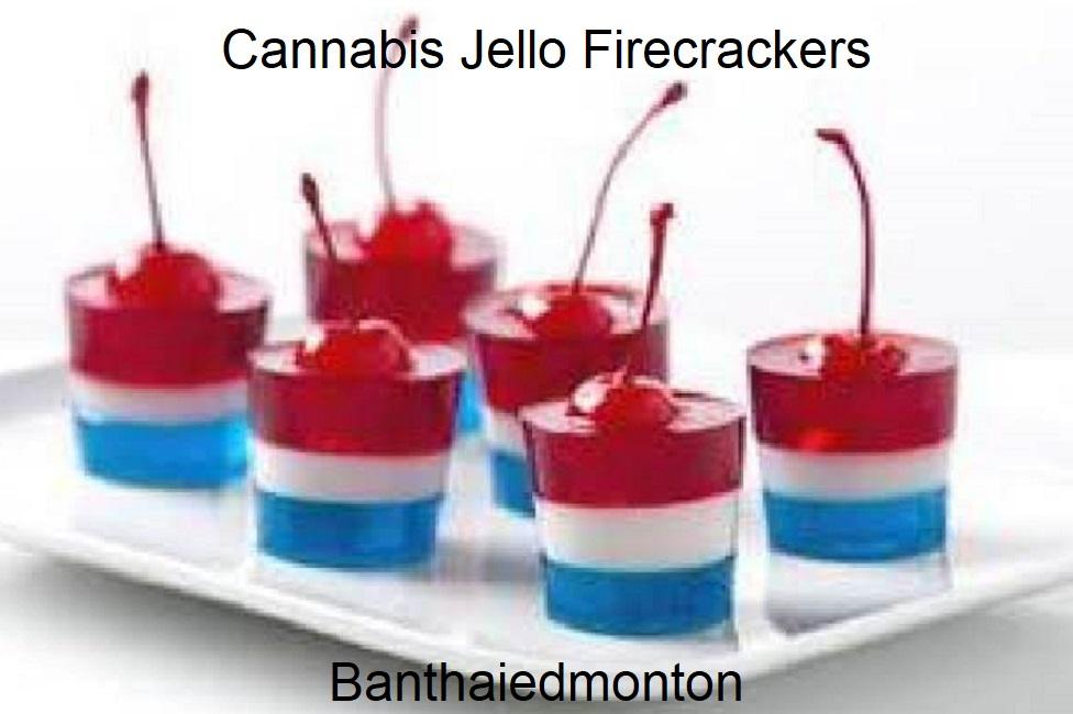 Cannabis Jello Firecrackers