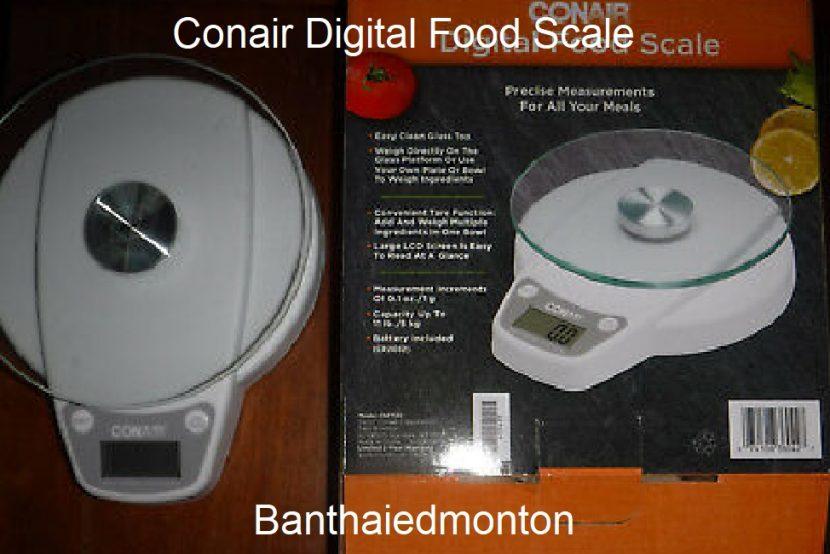 Conair Digital Food Scale