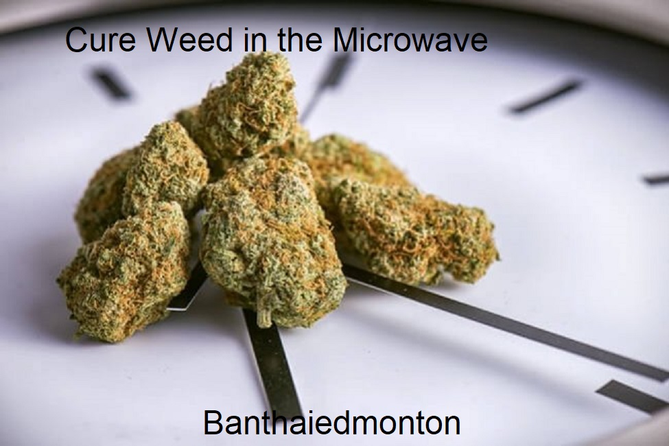Cure Weed in the Microwave