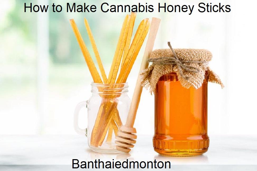 How to Make Cannabis Honey Sticks