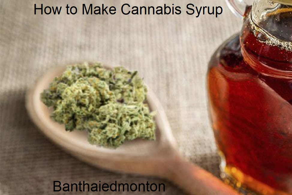 How to Make Cannabis Syrup A Recipe