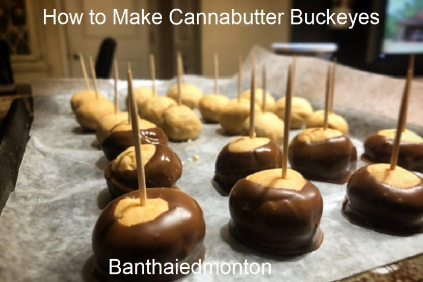 How to Make Cannabutter Buckeyes