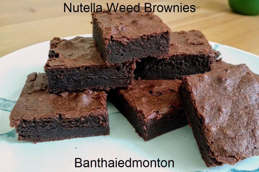 Nutella Weed Brownies Recipe