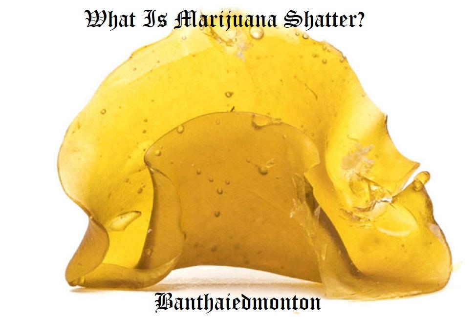 What Is Marijuana Shatter